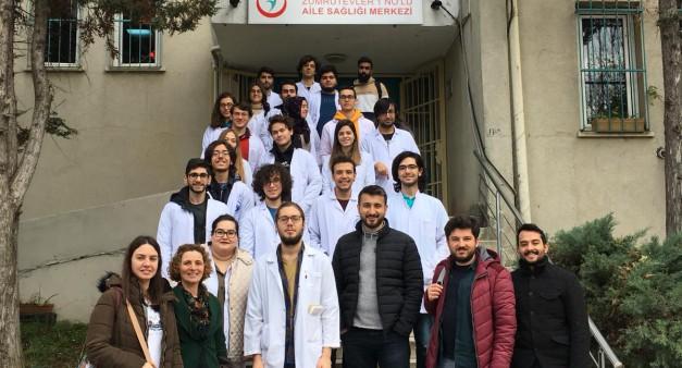 Tıp Fakültesi 2.Sınıfların Saha Gezisi